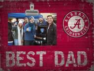 Alabama Crimson Tide Best Dad Clip Frame
