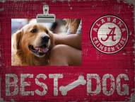 Alabama Crimson Tide Best Dog Clip Frame