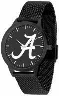 Alabama Crimson Tide Black Dial Mesh Statement Watch
