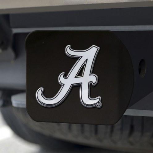 Alabama Crimson Tide Black Matte Hitch Cover