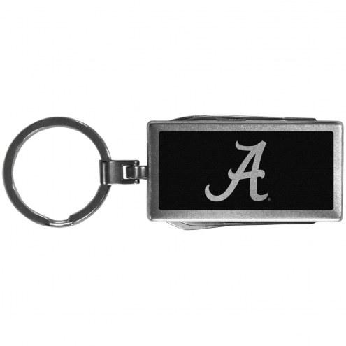 Alabama Crimson Tide Black Multi-tool Key Chain