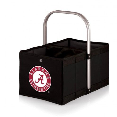 Alabama Crimson Tide Black Urban Picnic Basket