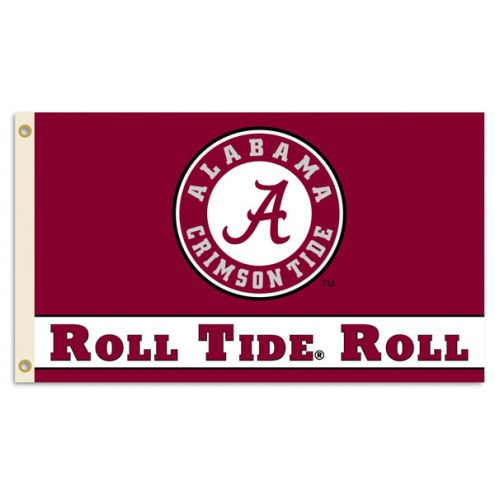 Alabama Crimson Tide Roll Tide Premium 3' x 5' Flag
