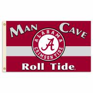 Alabama Crimson Tide Man Cave 3' x 5' Flag