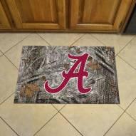 Alabama Crimson Tide Camo Scraper Door Mat