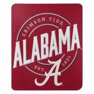Alabama Crimson Tide Campaign Fleece Throw Blanket