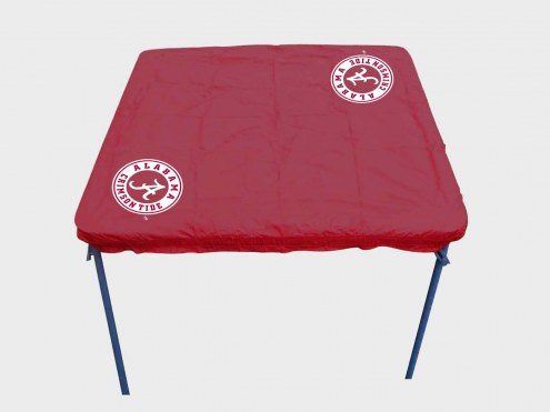 Alabama Crimson Tide Card Table Cover