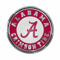 Alabama Crimson Tide Color Car Emblem