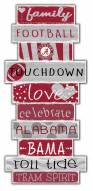 Alabama Crimson Tide Celebrations Stack Sign