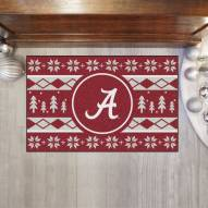 Alabama Crimson Tide Christmas Sweater Starter Rug