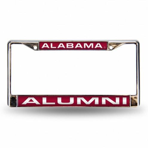 Alabama Crimson Tide Chrome Alumni License Plate Frame