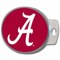 Alabama Crimson Tide Class II and III Oval Metal Hitch Cover