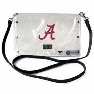 Alabama Crimson Tide Clear Envelope Purse