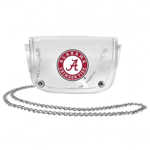 Alabama Crimson Tide Clear Waistpack