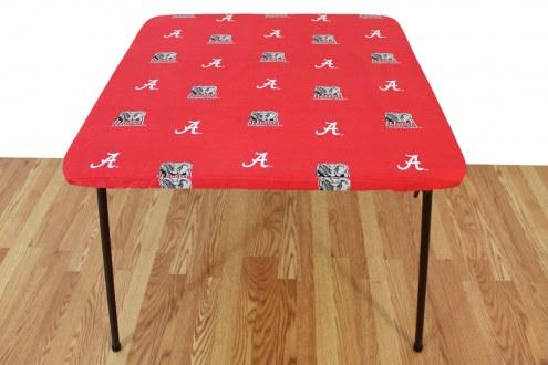 Alabama Crimson Tide Card Table Cover