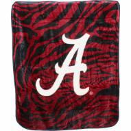 Alabama Crimson Tide Raschel Throw Blanket