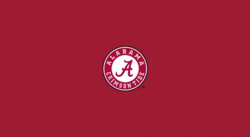 Alabama Crimson Tide NCAA Pool Table Cloth