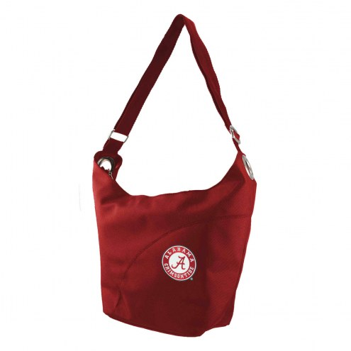 Alabama Crimson Tide Color Sheen Hobo Purse