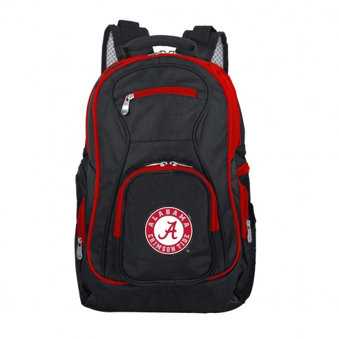 NCAA Alabama Crimson Tide Colored Trim Premium Laptop Backpack