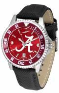 Alabama Crimson Tide Competitor AnoChrome Men's Watch - Color Bezel