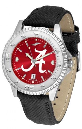 Alabama Crimson Tide Competitor AnoChrome Men's Watch