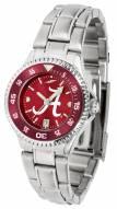 Alabama Crimson Tide Competitor Steel AnoChrome Women's Watch - Color Bezel