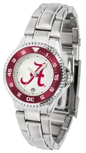 Alabama Crimson Tide Competitor Steel Women's Watch