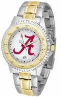 Alabama Crimson Tide Competitor Two-Tone Men's Watch