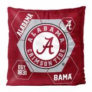 Alabama Crimson Tide Connector Double Sided Velvet Pillow