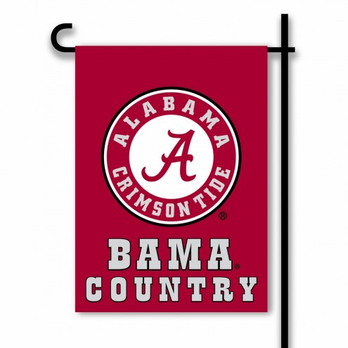 Alabama Crimson Tide Country Garden Flag