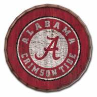 "Alabama Crimson Tide Cracked Color 24"" Barrel Top"