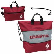 Alabama Crimson Tide Crosshatch Expandable Tote