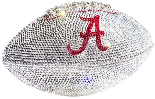 Alabama Crimson Tide Swarovski Crystal Football