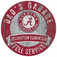 Alabama Crimson Tide Dad's Garage Sign