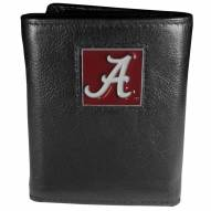 Alabama Crimson Tide Deluxe Leather Tri-fold Wallet in Gift Box