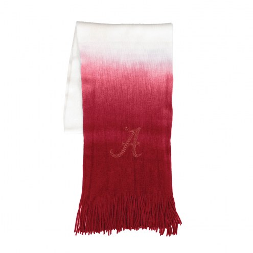 Alabama Crimson Tide Dip Dye Scarf