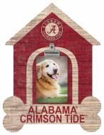 Alabama Crimson Tide Dog Bone House Clip Frame