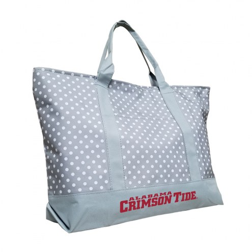Alabama Crimson Tide Dot Tote Bag