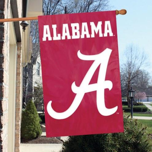 Alabama Crimson Tide NCAA Embroidered / Applique College Flag Banner