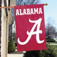 Alabama Crimson Tide NCAA Applique 2-Sided Banner Flag