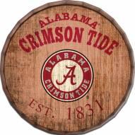 """Alabama Crimson Tide Established Date 24"""" Barrel Top"""