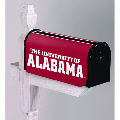 Alabama Crimson Tide Mailbox Cover