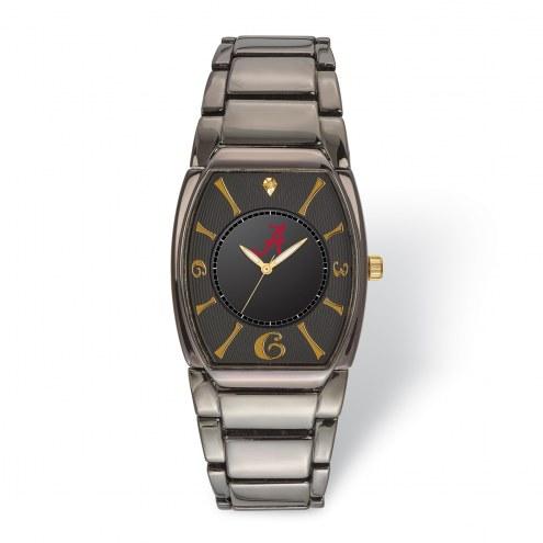 Alabama Crimson Tide Executive Black Plated Watch