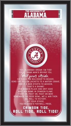 Alabama Crimson Tide Fight Song Mirror
