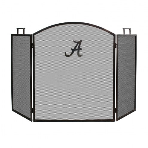 Alabama Crimson Tide Fireplace Screen