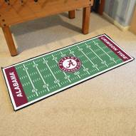 Alabama Crimson Tide Football Field Runner Rug
