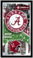 Alabama Crimson Tide Football Mirror