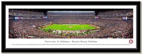Alabama Crimson Tide Framed Stadium Print