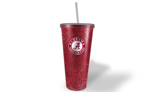 Alabama Crimson Tide Freezer Straw Tumbler