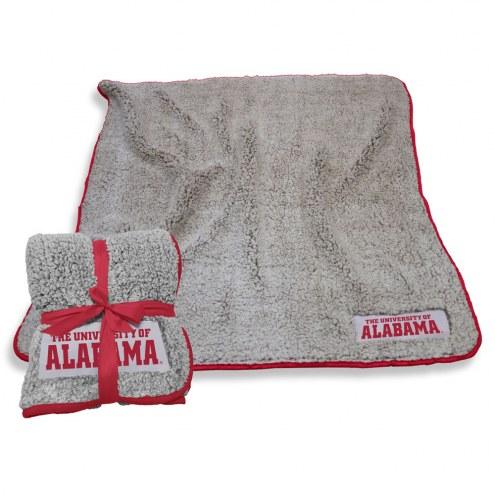 Alabama Crimson Tide Frosty Fleece Blanket